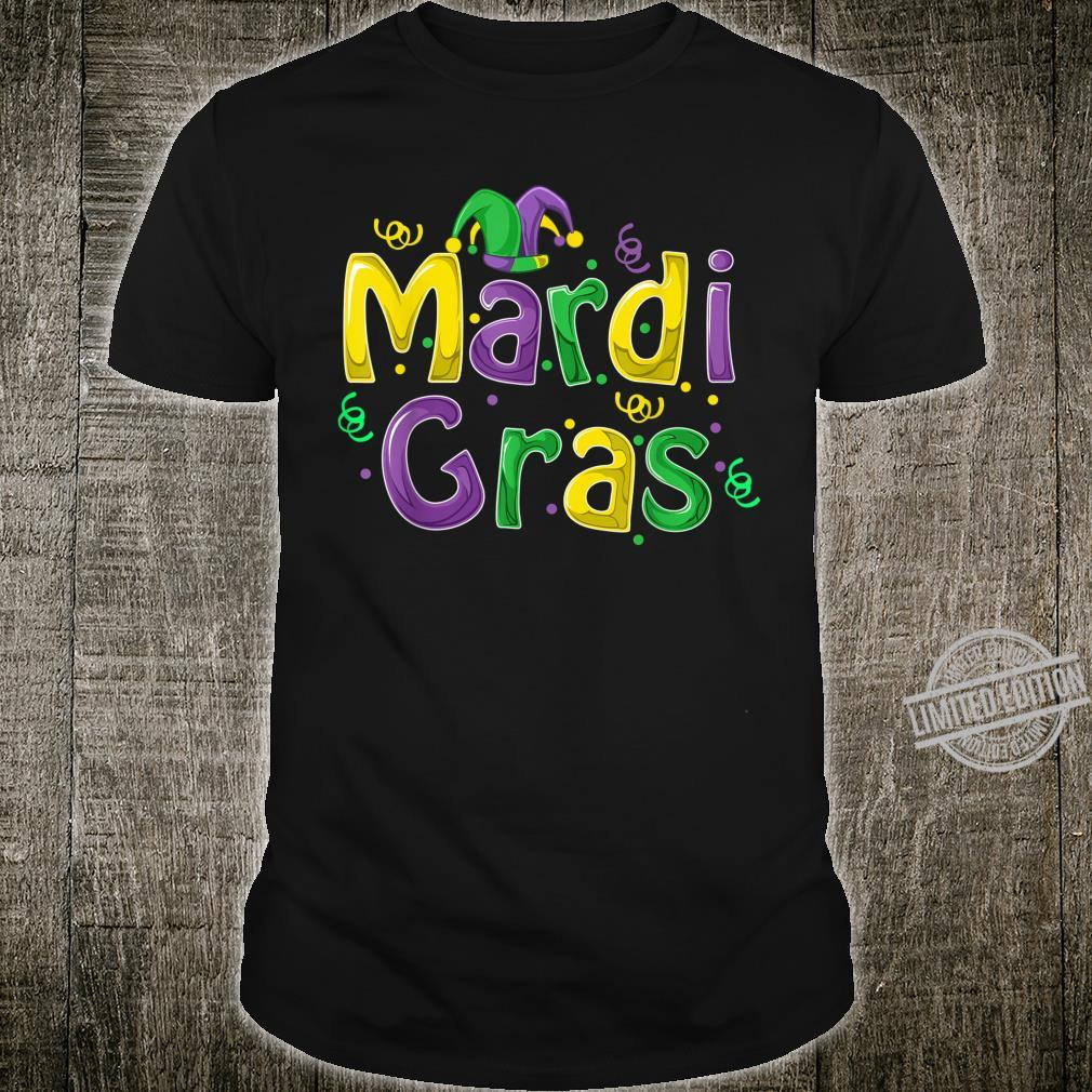 Mardi Gras Cute Carnival Fat Tuesday Shirt