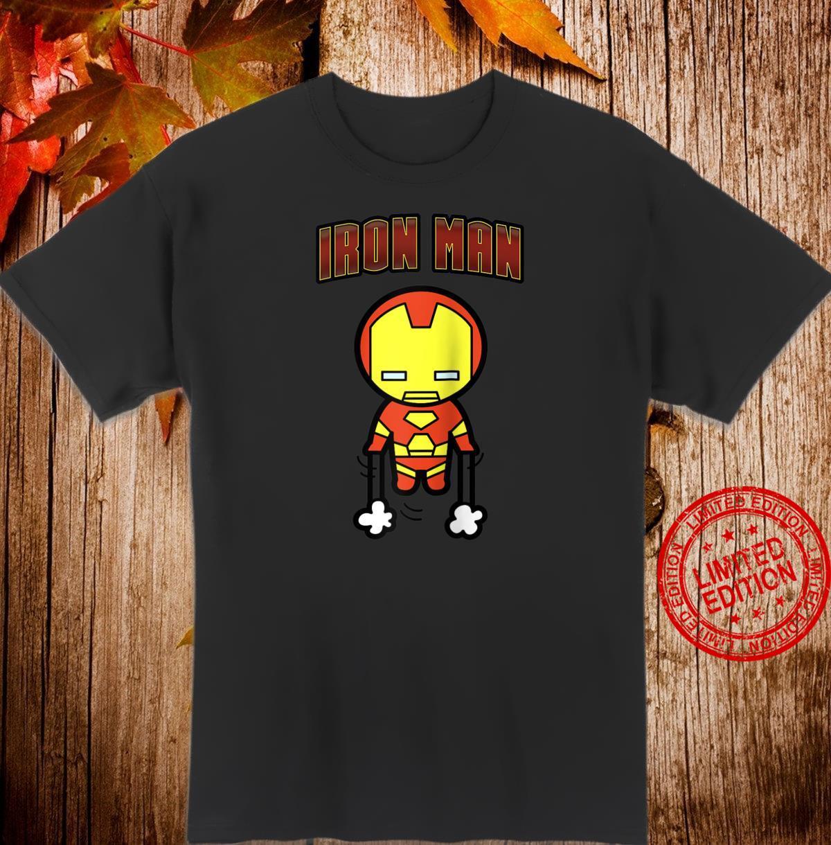 Marvel Iron Man Invincible Kawaii Flying Shirt
