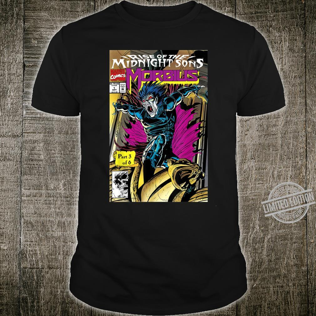 Marvel Rise Of The Midnight Sons Morbius Comic Cover Shirt