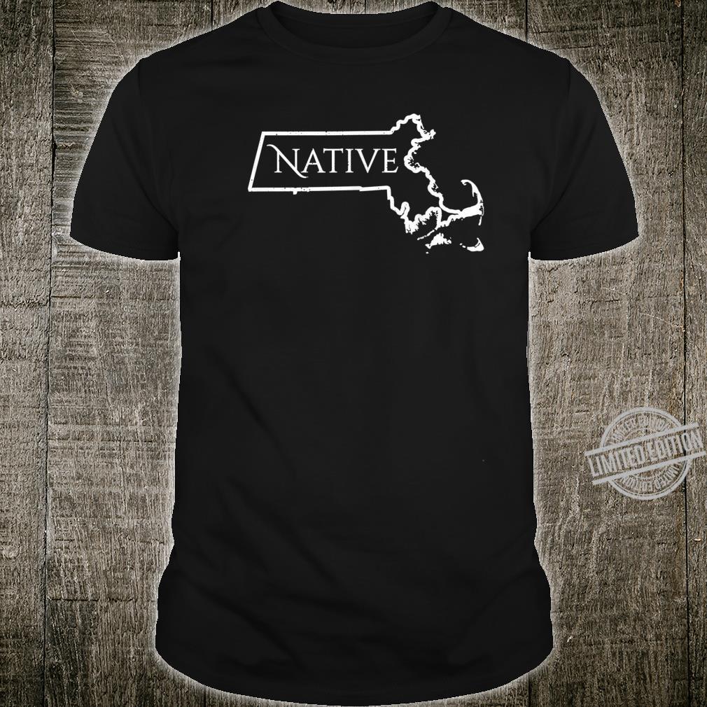 Massachusets Native Distressed Shirt