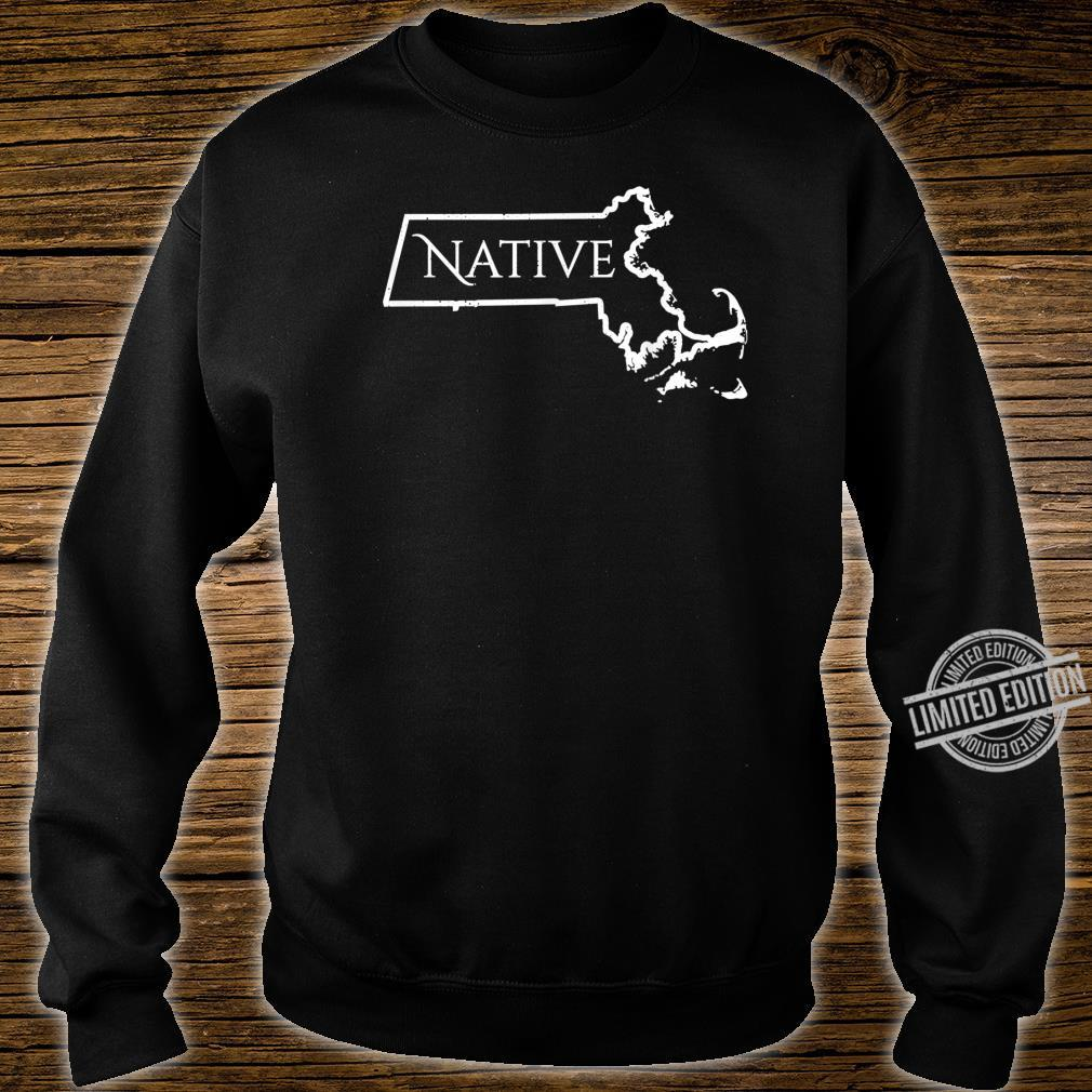 Massachusets Native Distressed Shirt sweater