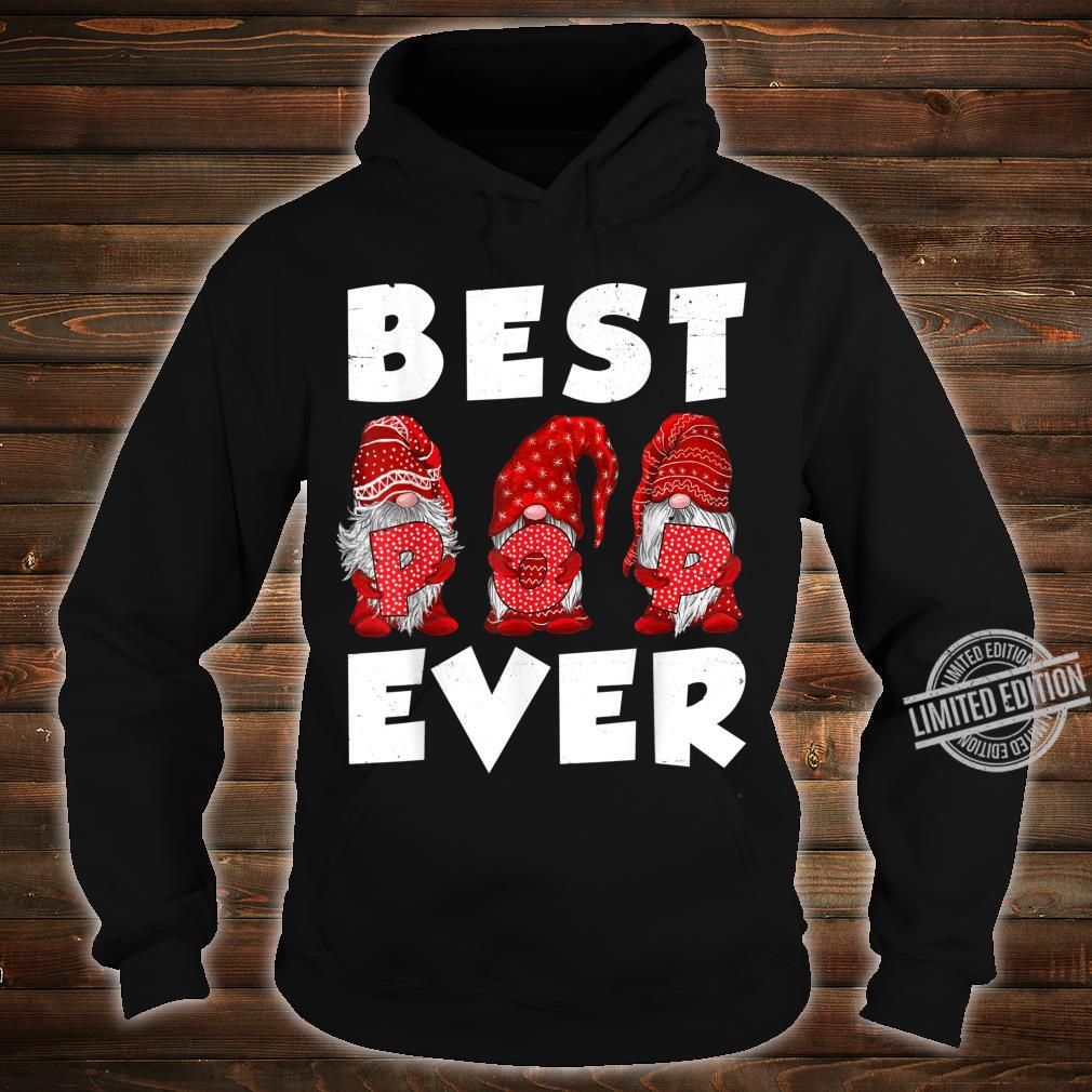 Matching Family Gnome Best Pop Ever Mothers Day For Mom Shirt hoodie