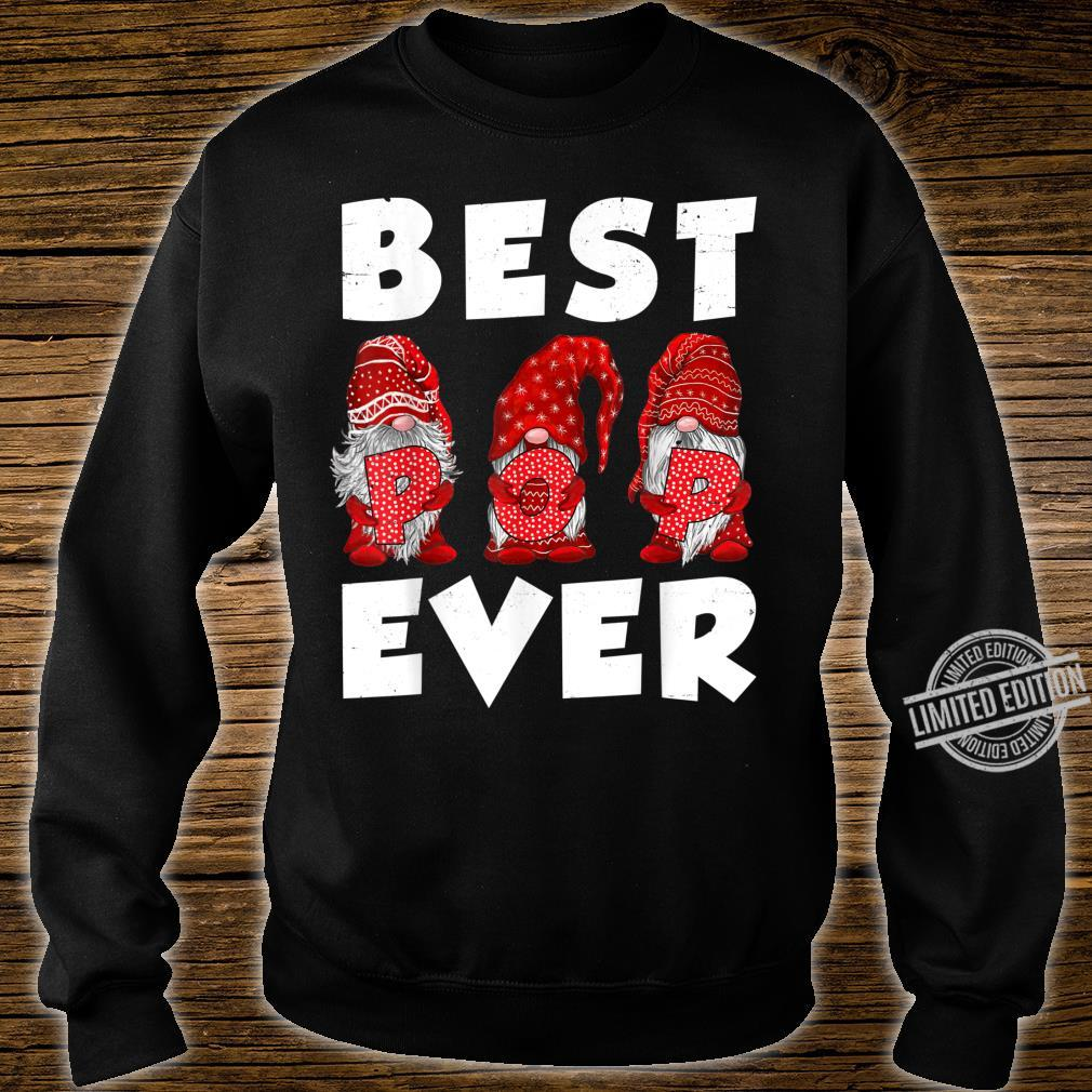 Matching Family Gnome Best Pop Ever Mothers Day For Mom Shirt sweater