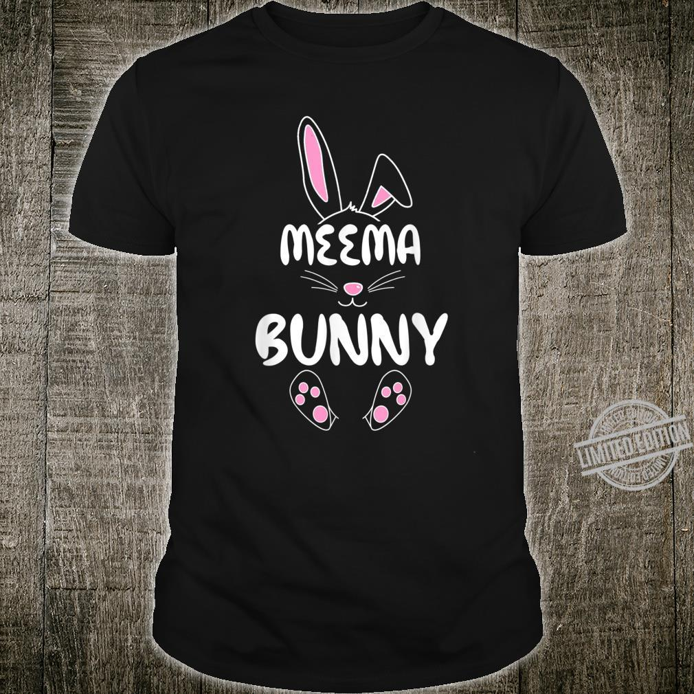Meema Bunny Easter Group Matching Family Easter Shirt