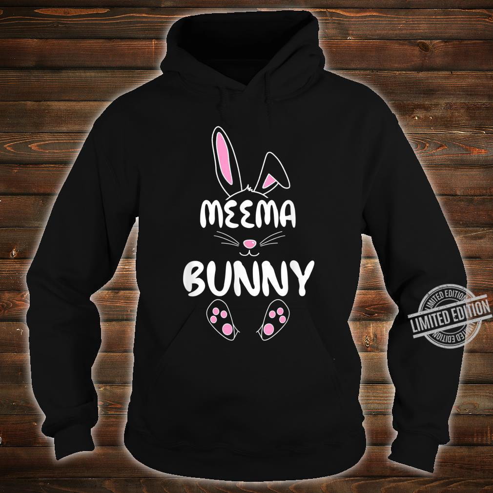 Meema Bunny Easter Group Matching Family Easter Shirt hoodie