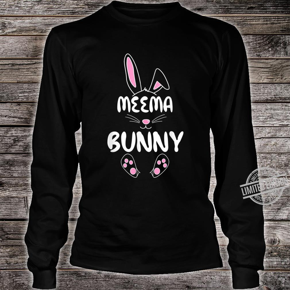Meema Bunny Easter Group Matching Family Easter Shirt long sleeved