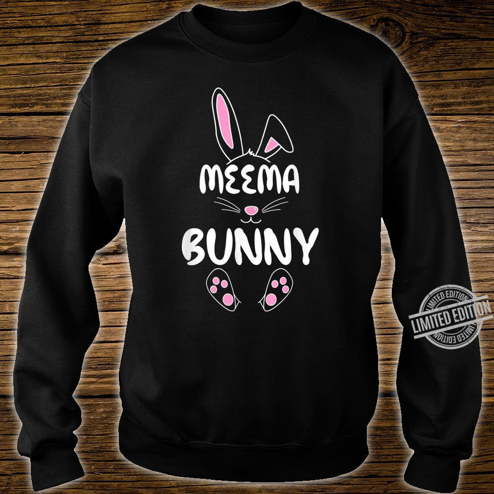 Meema Bunny Easter Group Matching Family Easter Shirt sweater