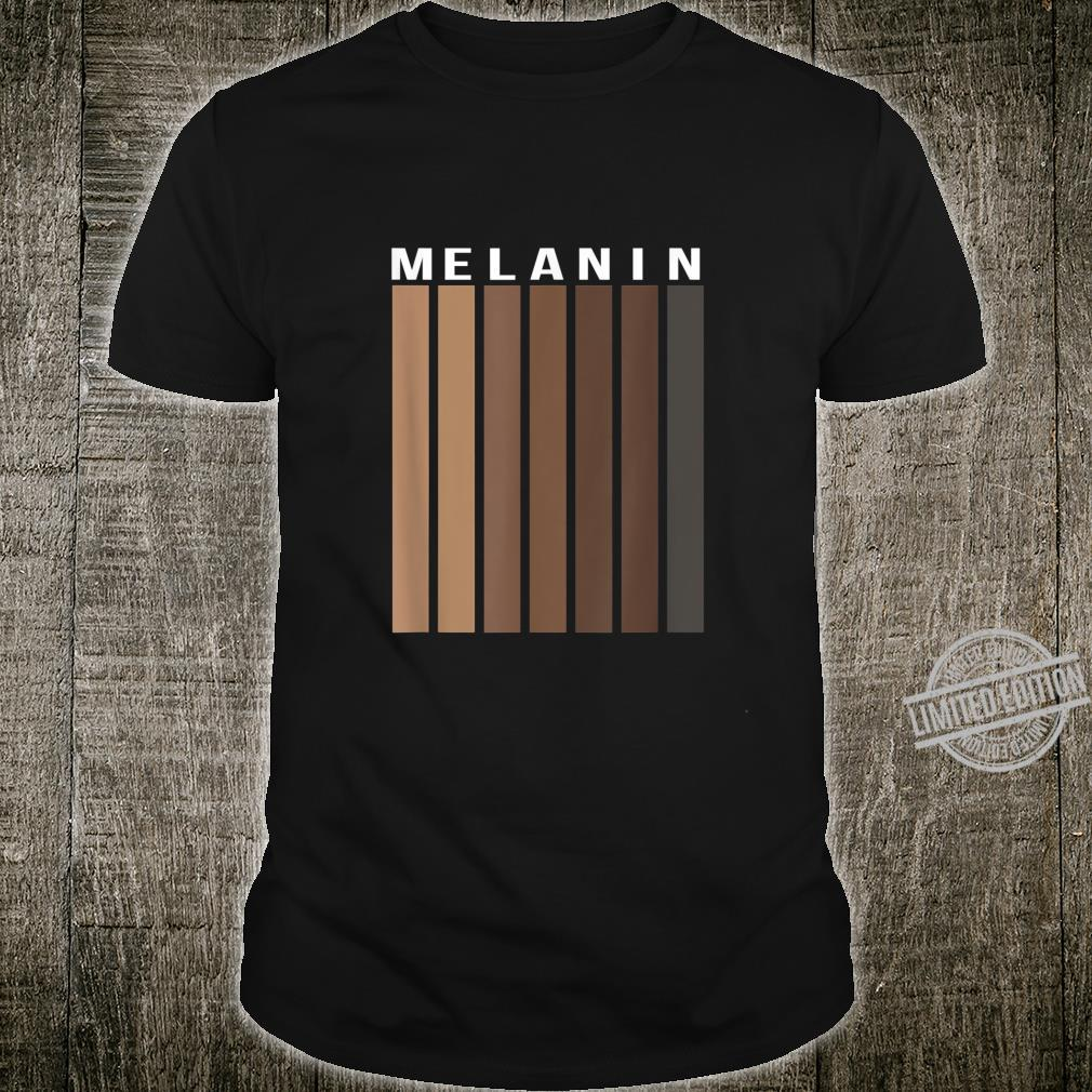 Melanin Poppin Black History Month African American Pride Shirt