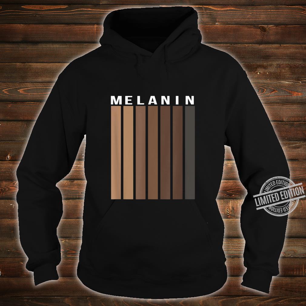 Melanin Poppin Black History Month African American Pride Shirt hoodie