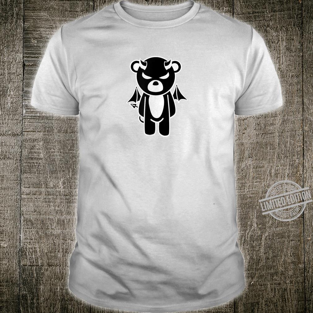 Mens Halloween Devilish Bear LGBT Gay Pride Shirt