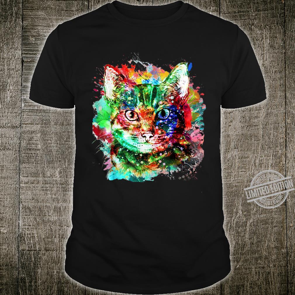 My cute Cat watercolor for cats Shirt