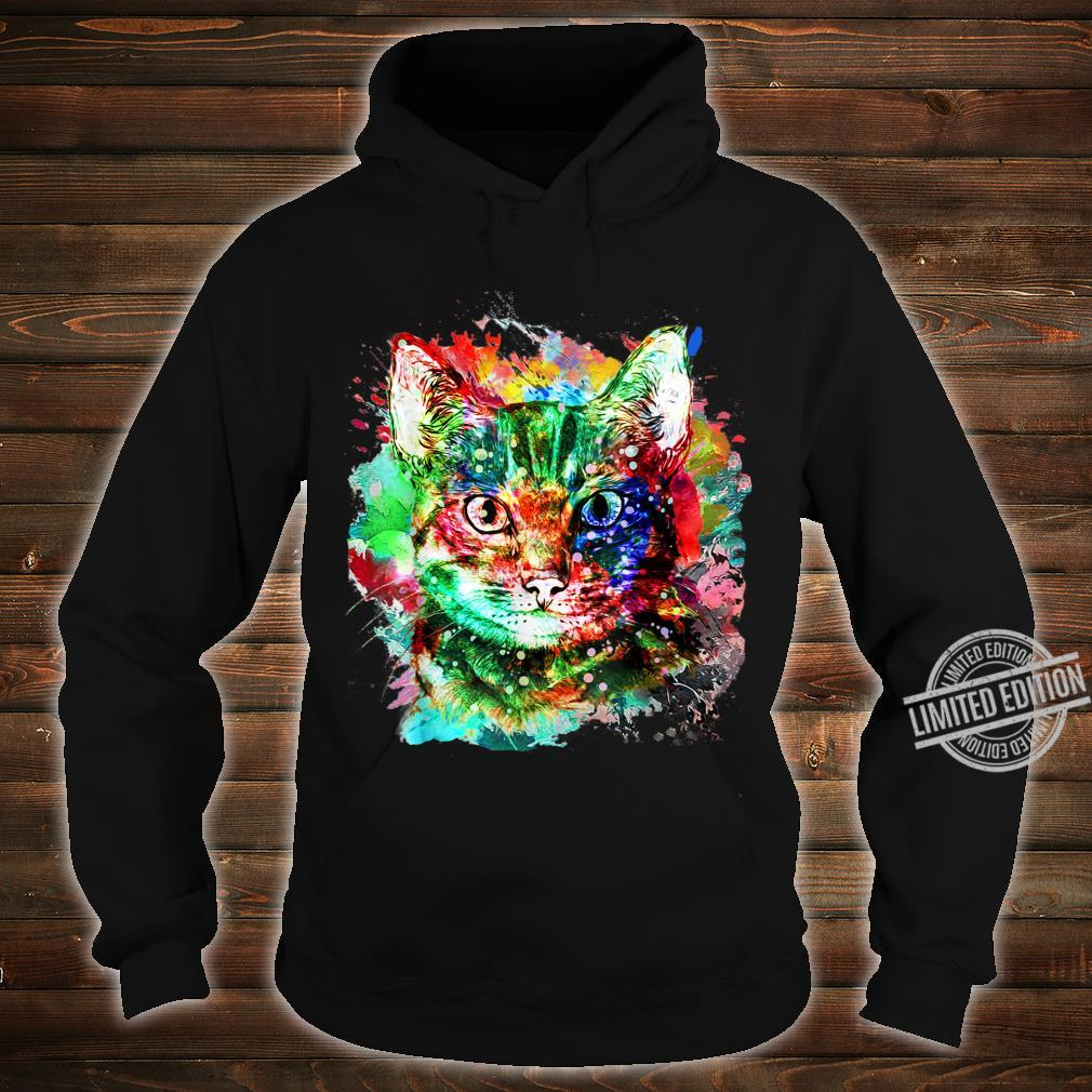 My cute Cat watercolor for cats Shirt hoodie
