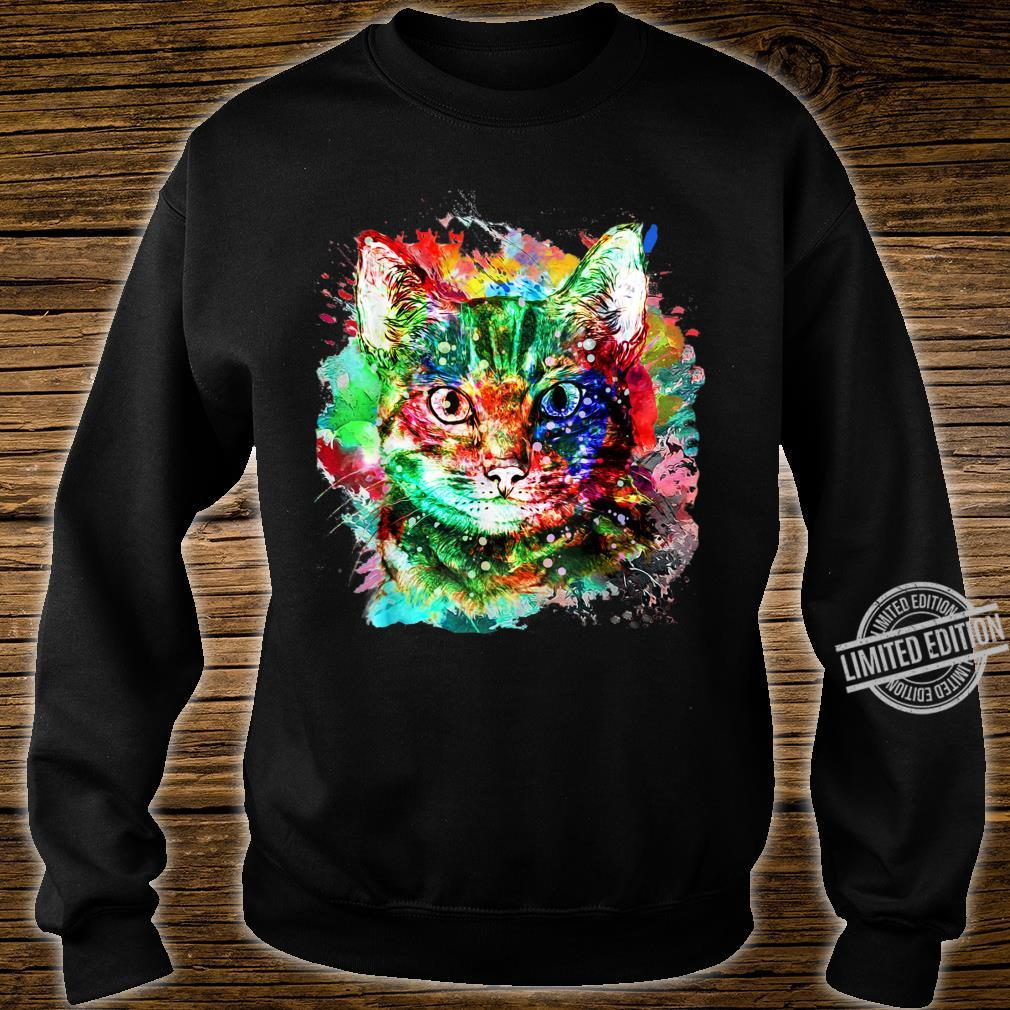 My cute Cat watercolor for cats Shirt sweater