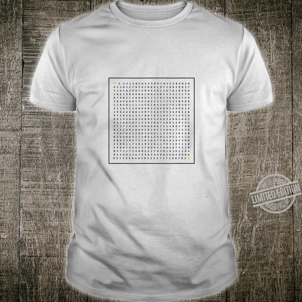 Nerdy Pi present Shirt