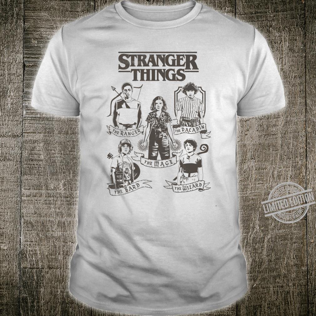 Netflix Stranger Things Group Shot Classes Shirt
