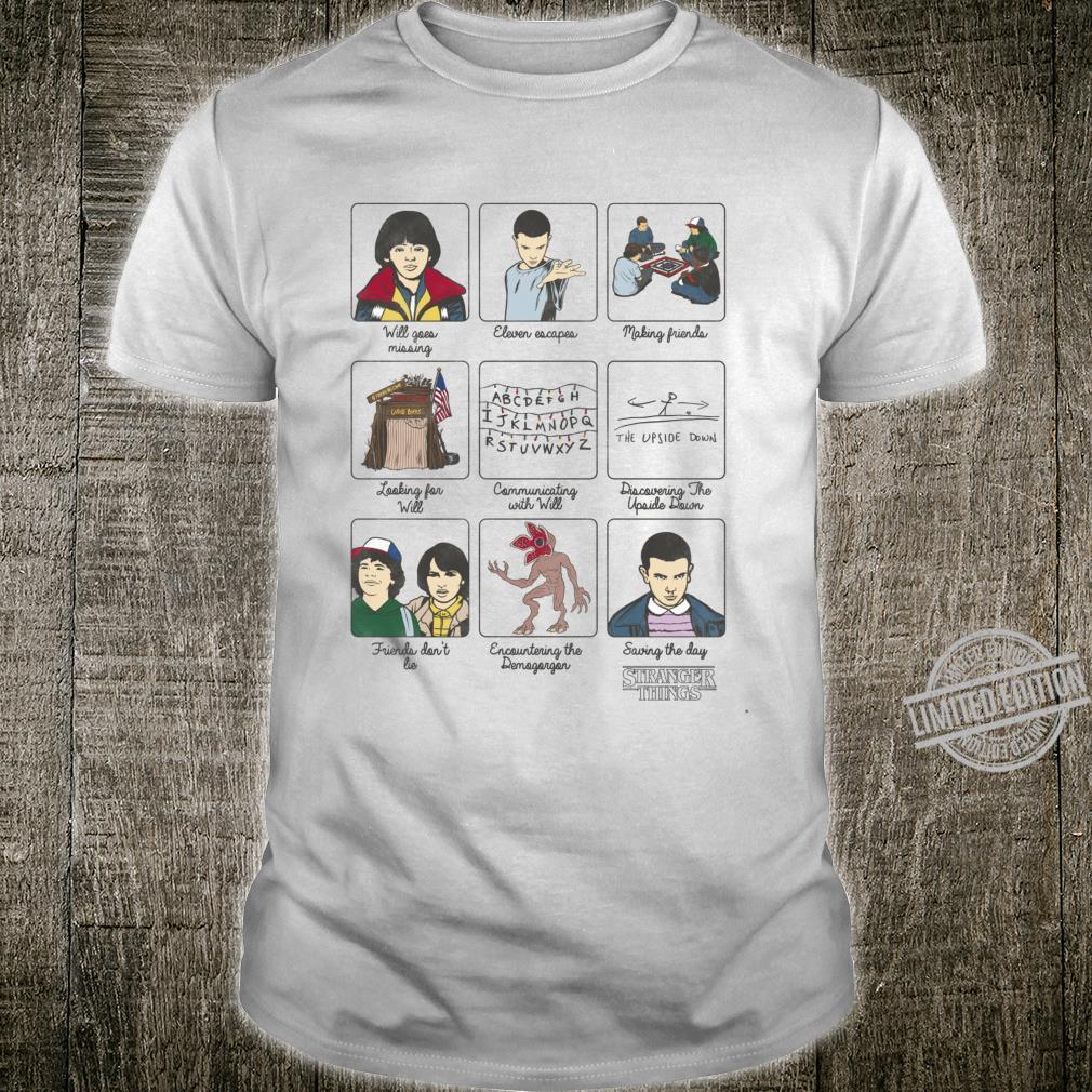 Netflix Stranger Things Story Panels Shirt