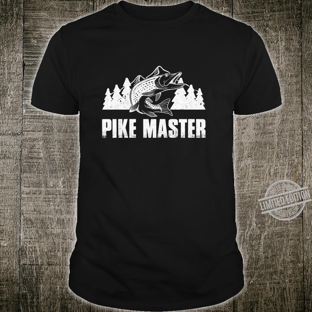 Northern Pike Fishing Pike Master Boys Fishing Shirt