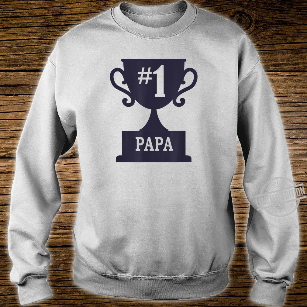 Number 1 Papa Cool Fathers Day for Dads Shirt sweater