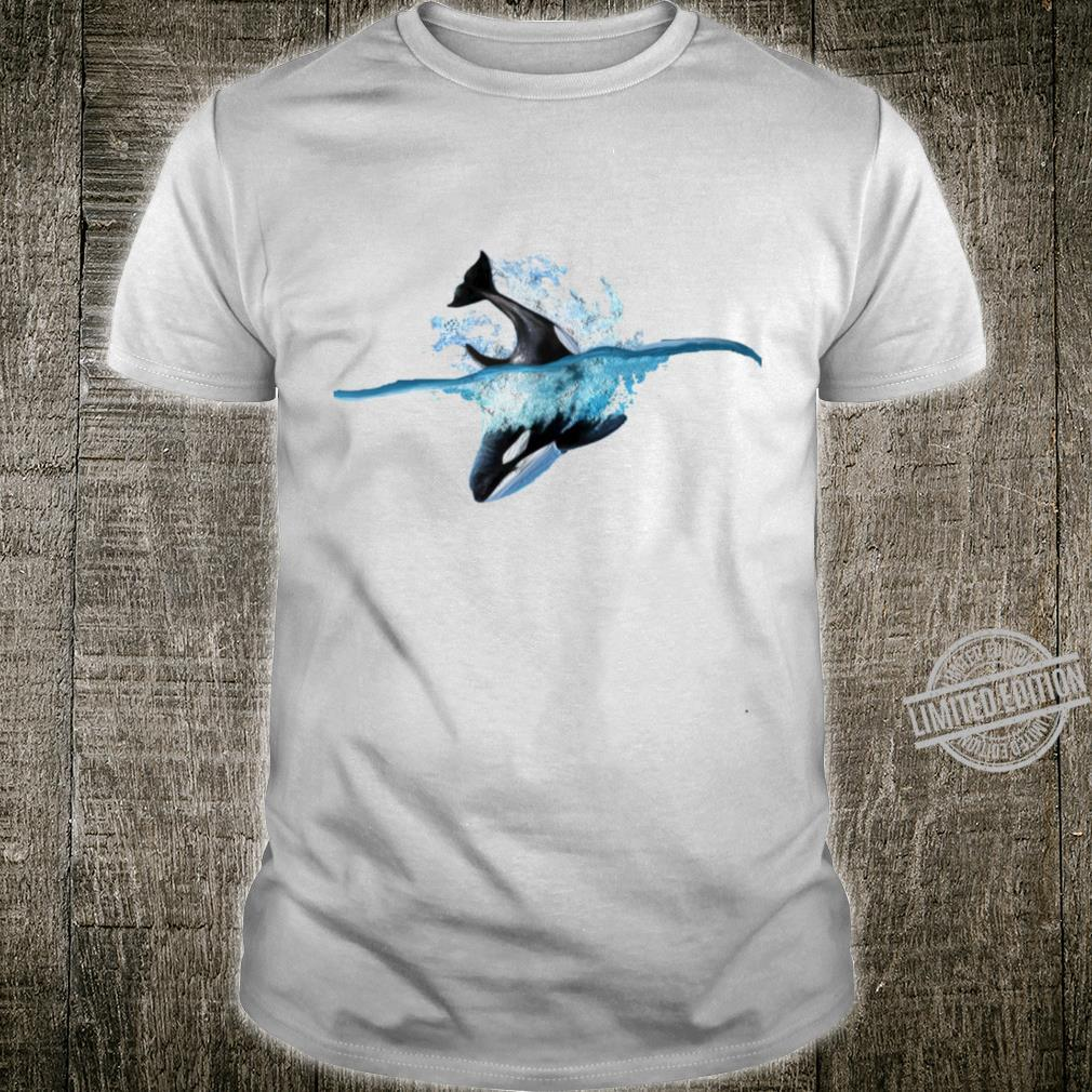 Orca whale oil painting Shirt