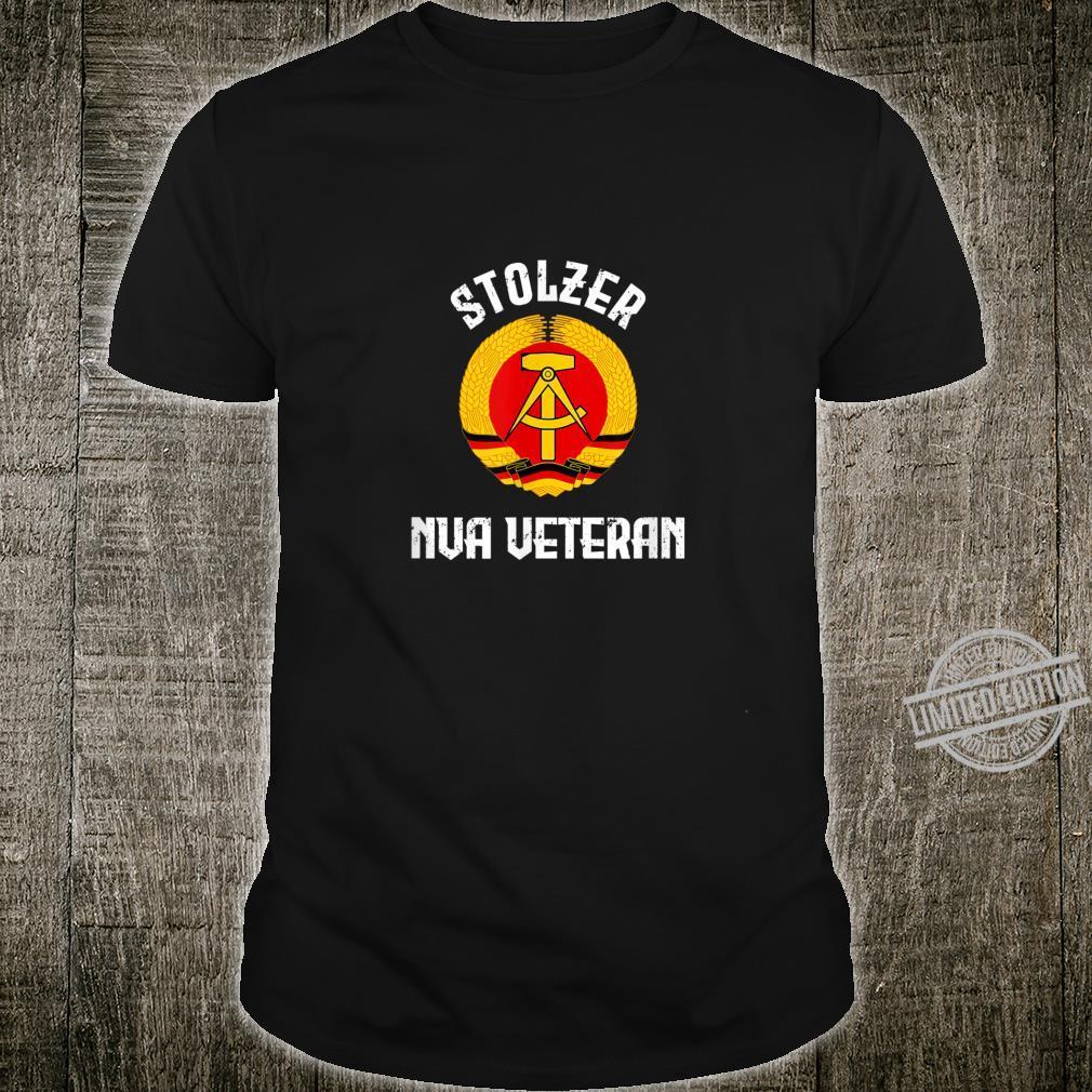 Ossi NVA Nicki DDR mit Spruch für NVA Veteranen Shirt