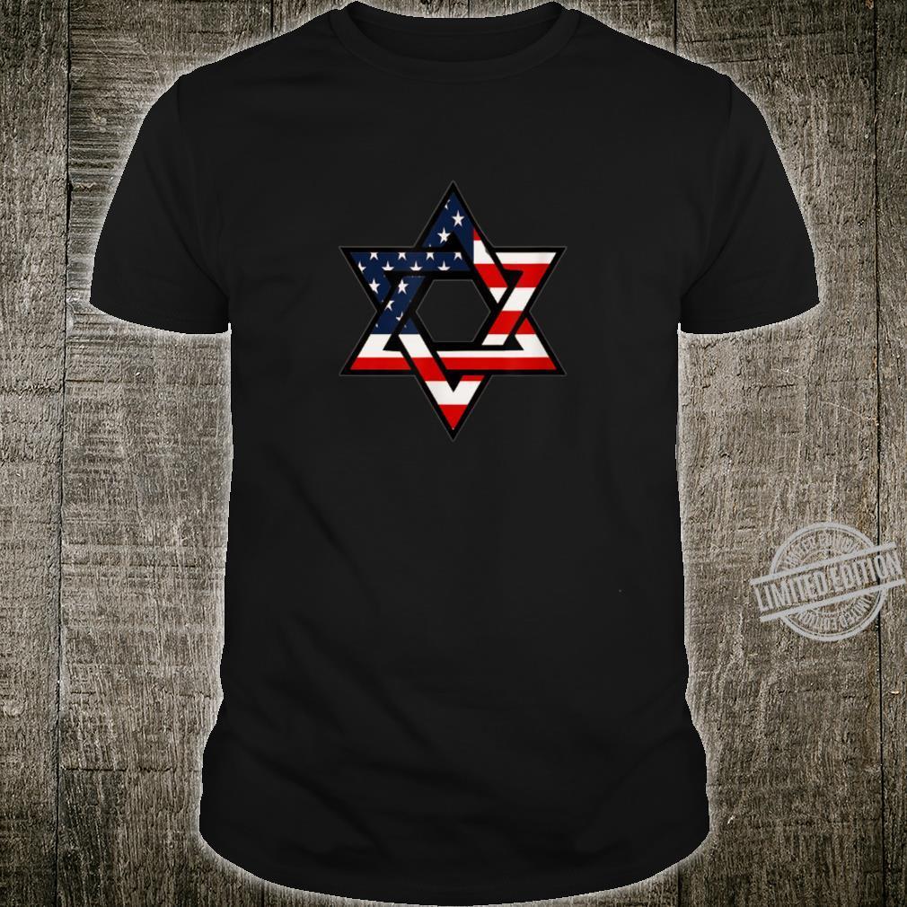 Patriotic Israel American Jewish Shirt