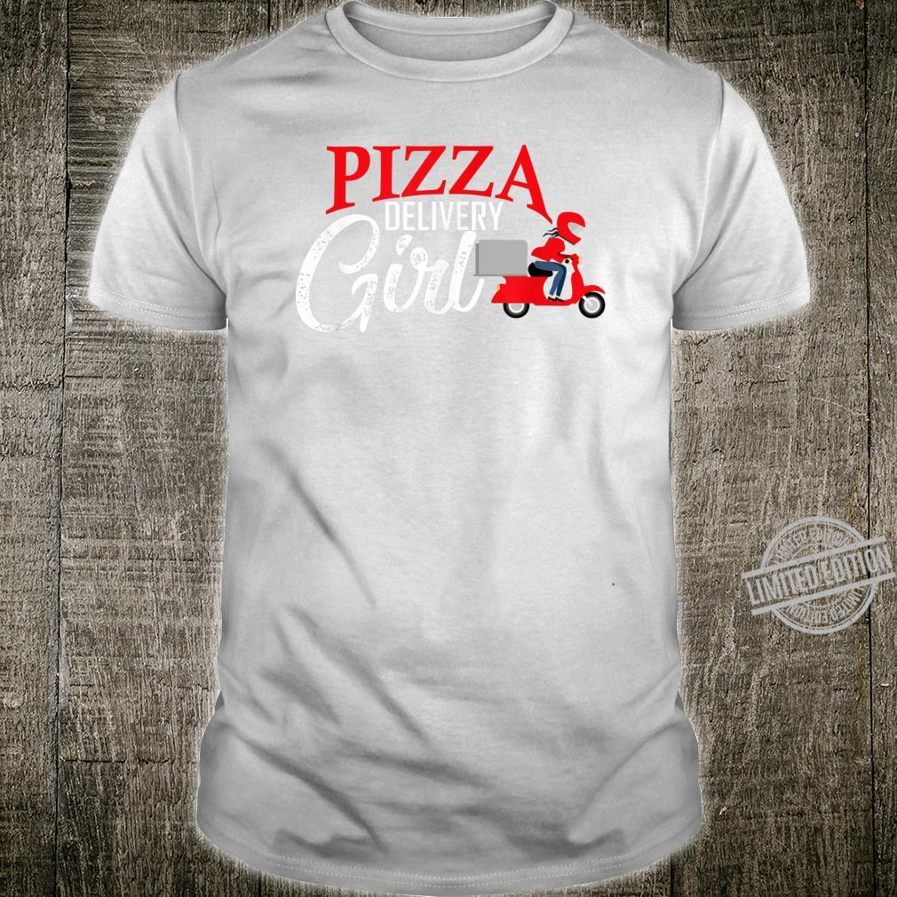 Pizza delivery girl matching pizza costume girls Shirt