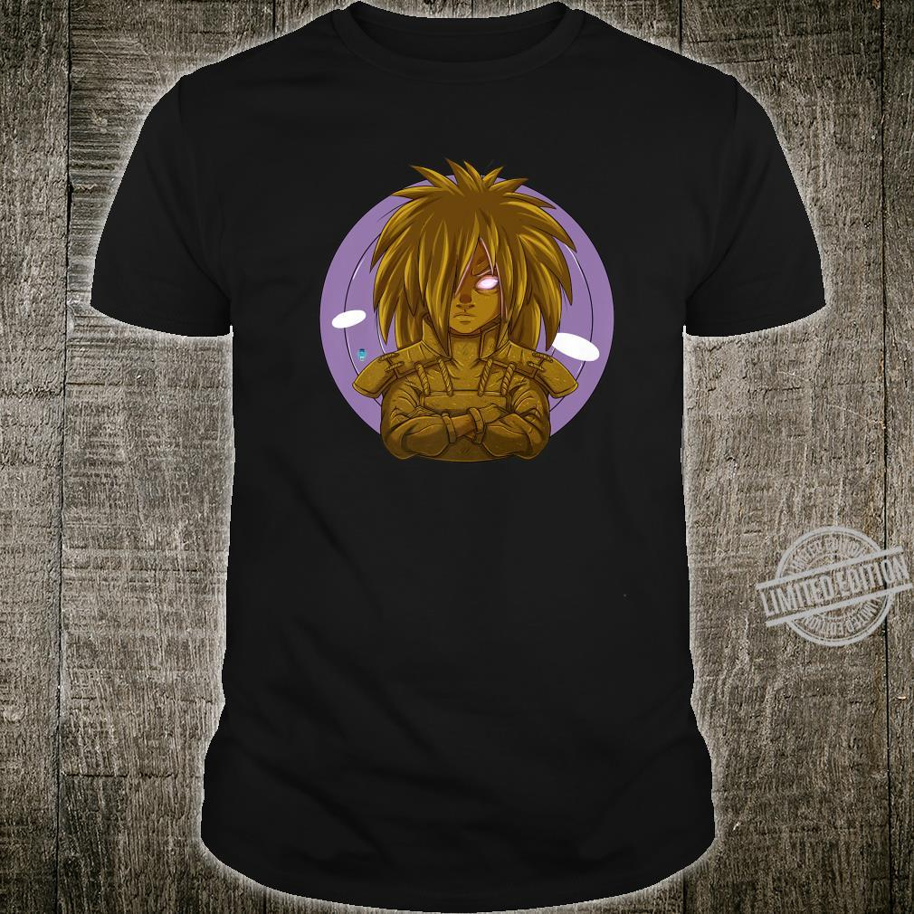 Planetary Devastation Premium Gold Shirt