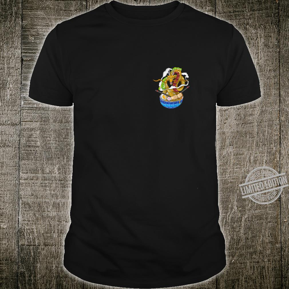 Pocket Dragon Chillin Ramen Kawaii Japanese Food Otaku Shirt