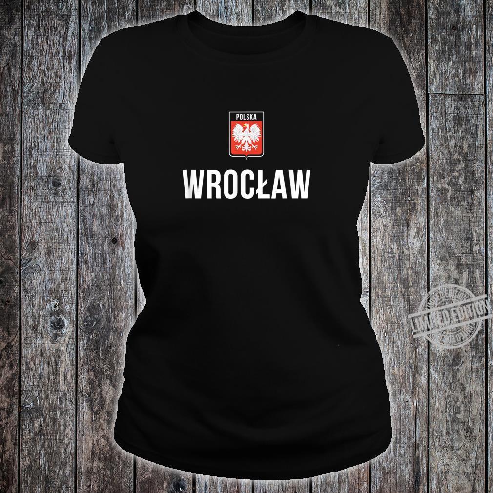 POLAND Silkscreen WROCLAW POLSKA T-SHIRT