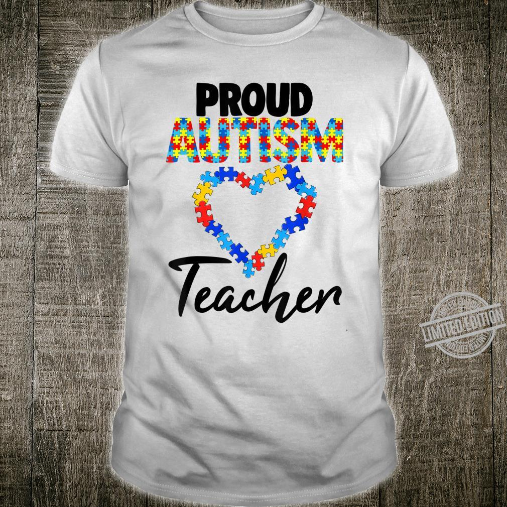 Proud Autism Teacher Shirt Autism Awareness Shirt