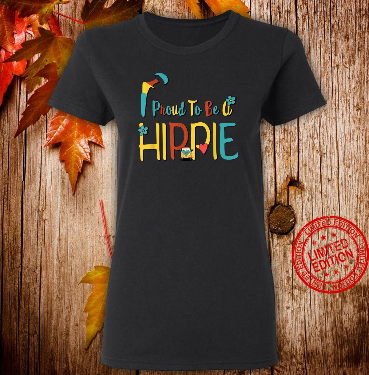 Proud to Be A Hippie Hip Replacement Joint Surgery Shirt ladies tee