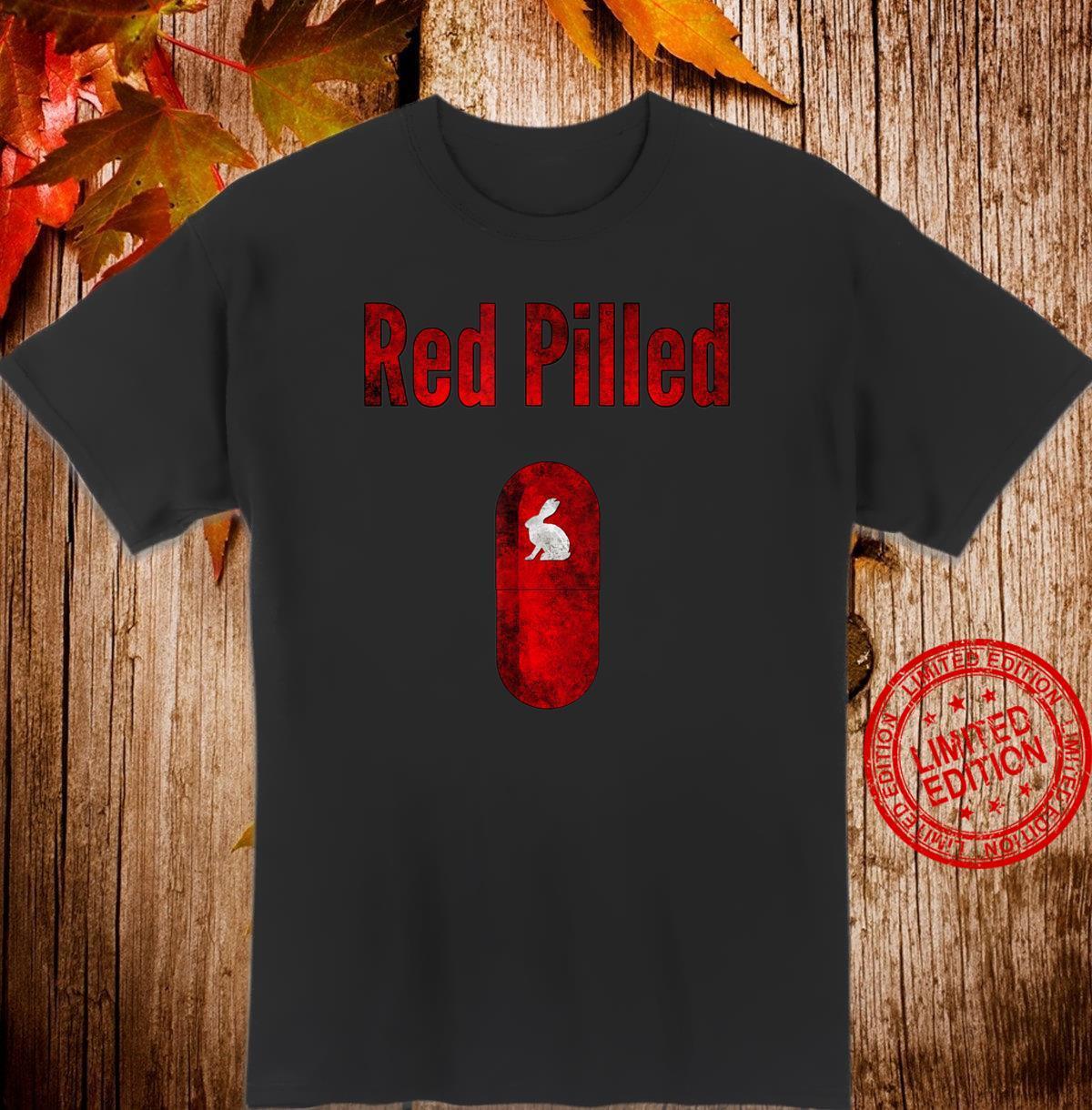 Qanon Q+ Red Pilled Rabbit Shirt