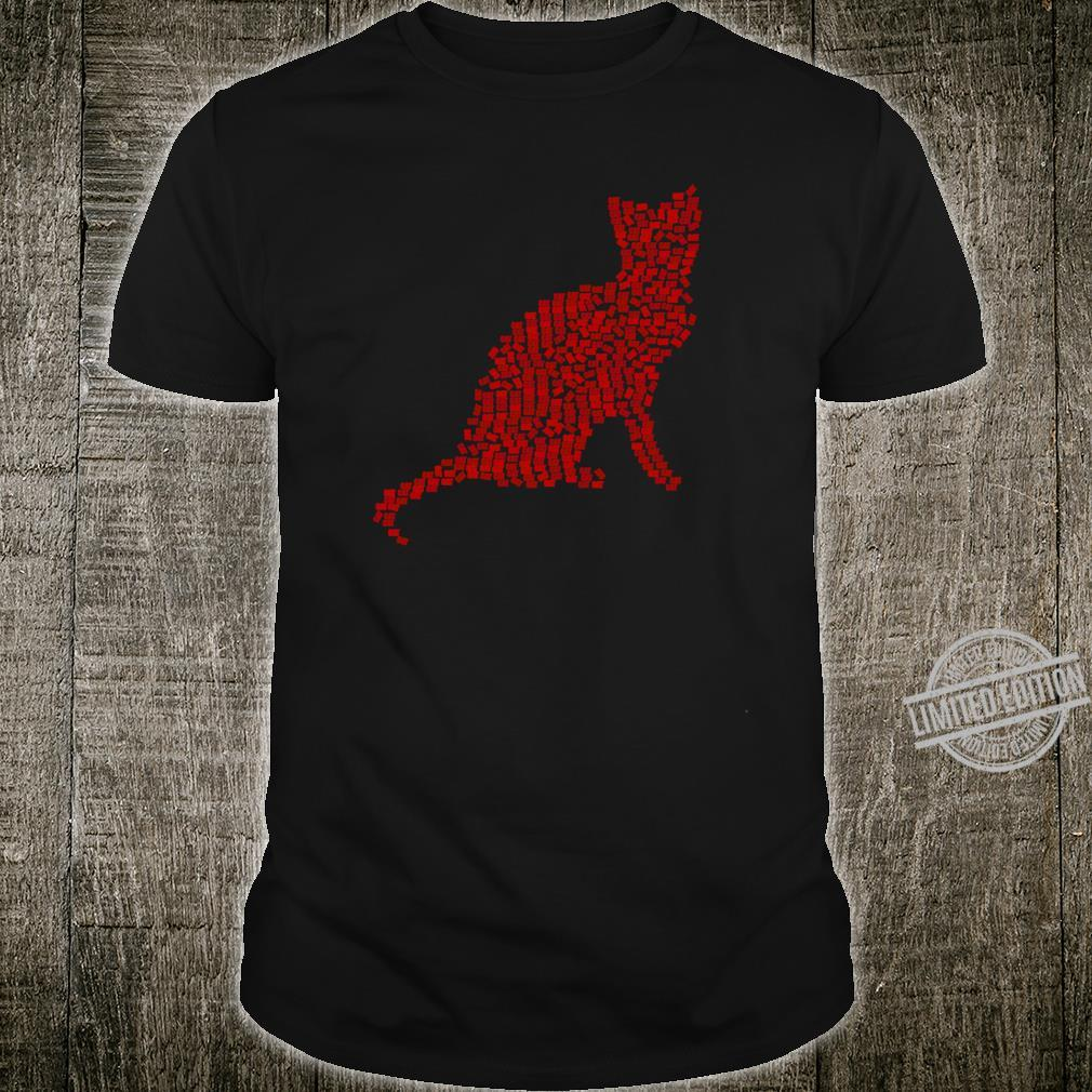 RED CAT WORD SILHOUETTE APPAREL & Shirt