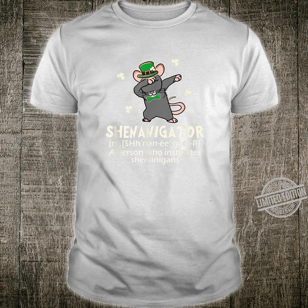 Rat Dabbing Shenanigator Irish Patricks Shirt