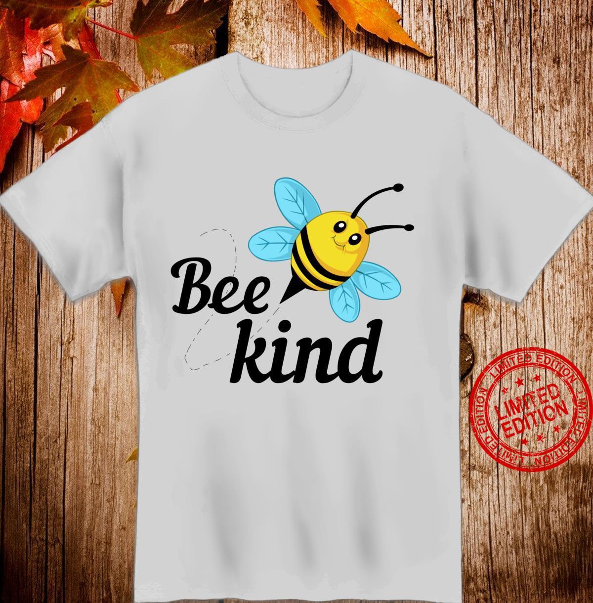 Rette die Honigbiene Bee Kind Langarmshirt Shirt