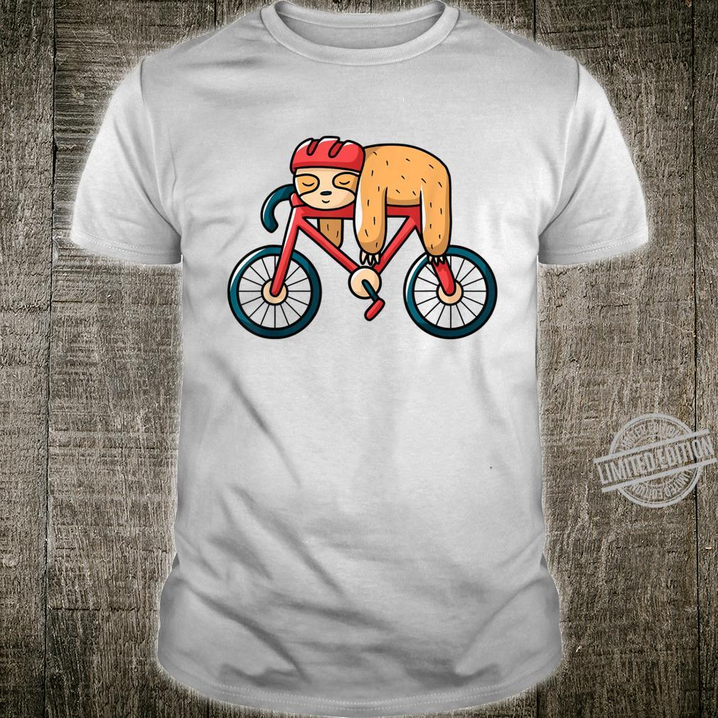 Road Bike Bicycle Sloth Shirt