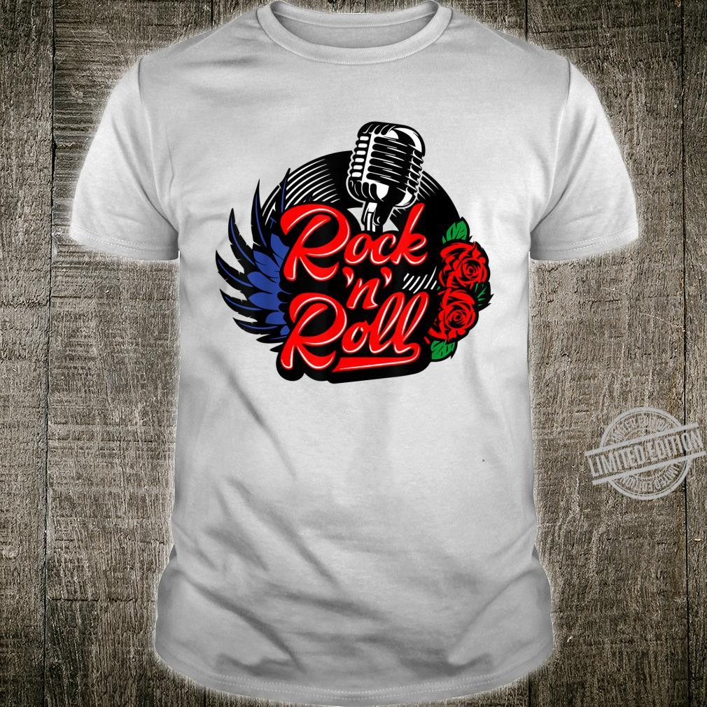 Rockabilly 1950s Sock Hop Shirt Rock N Roll Girls Shirt