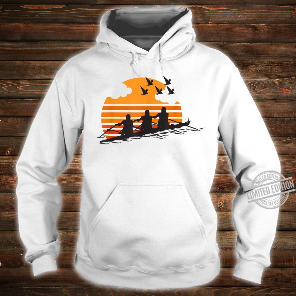 Rowing Team Sunset Lake Cute Crew Sport Shirt hoodie