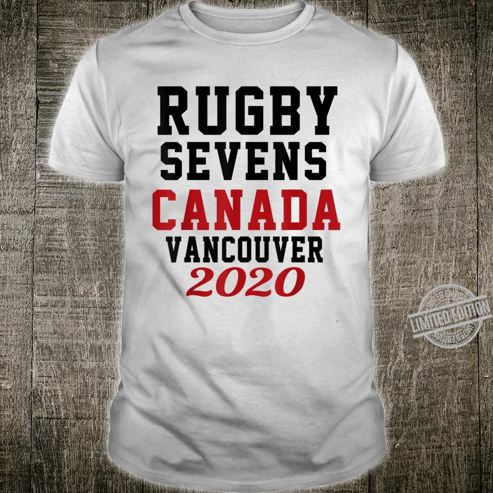 Rugby Sevens Canada Vancouver 2020 Shirt