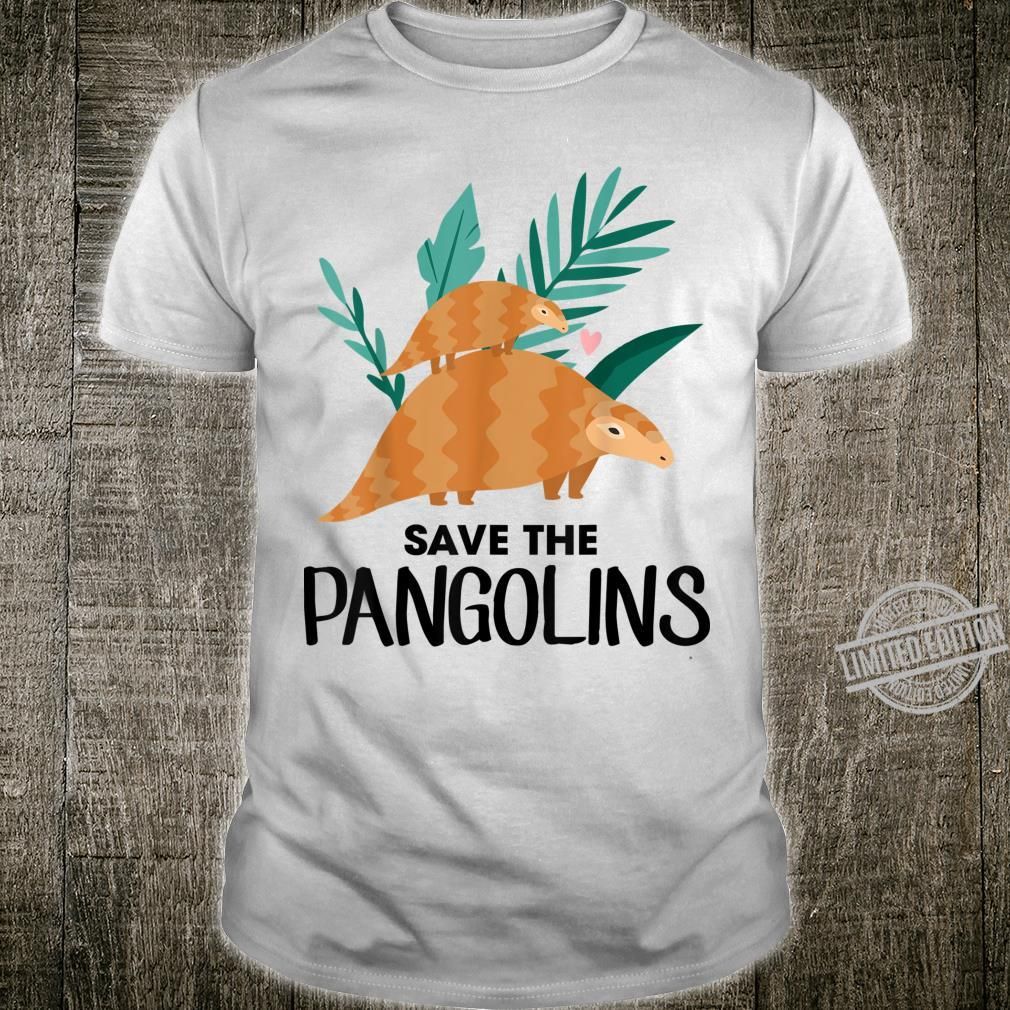 Save The Pangolins Pangolin Shirt