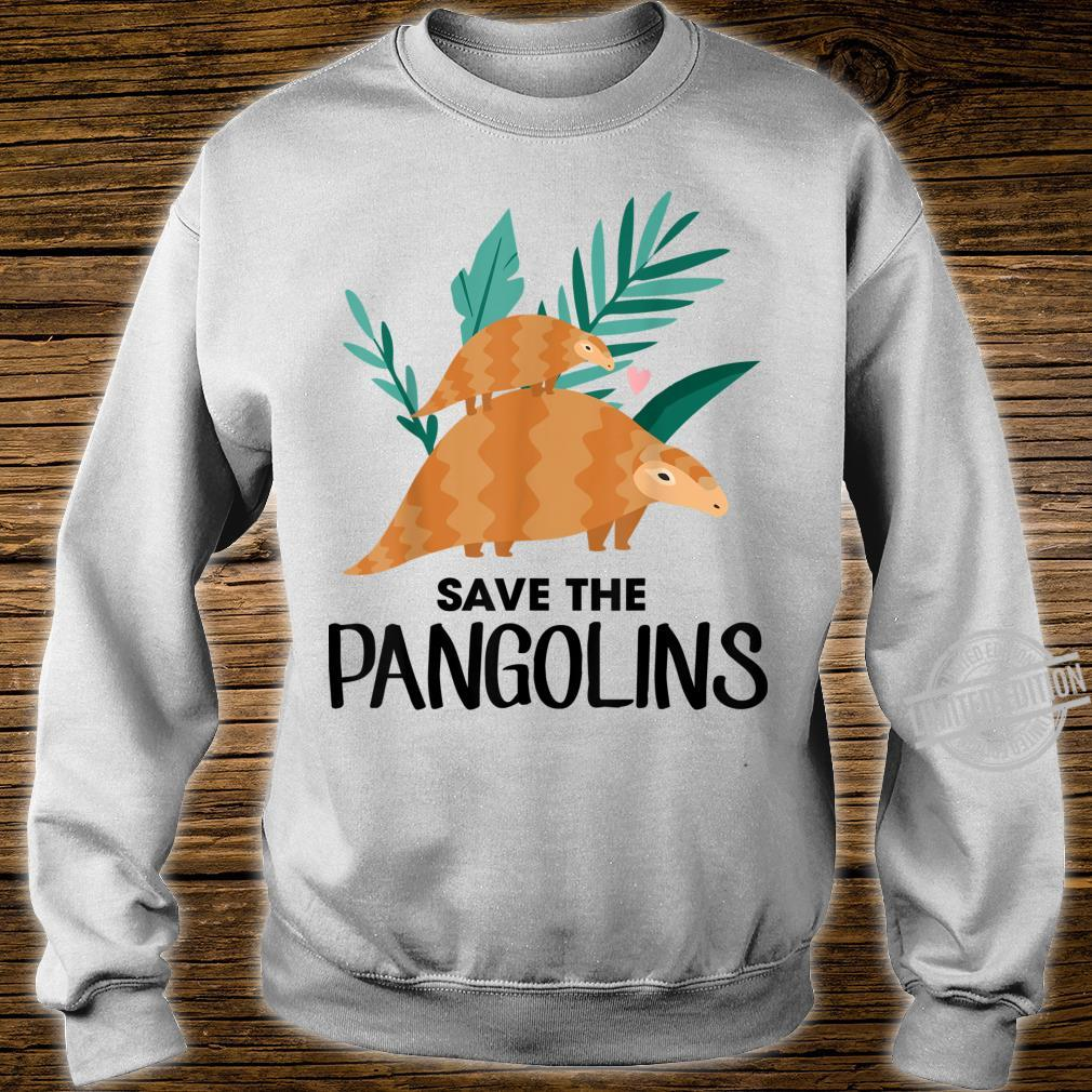 Save The Pangolins Pangolin Shirt sweater
