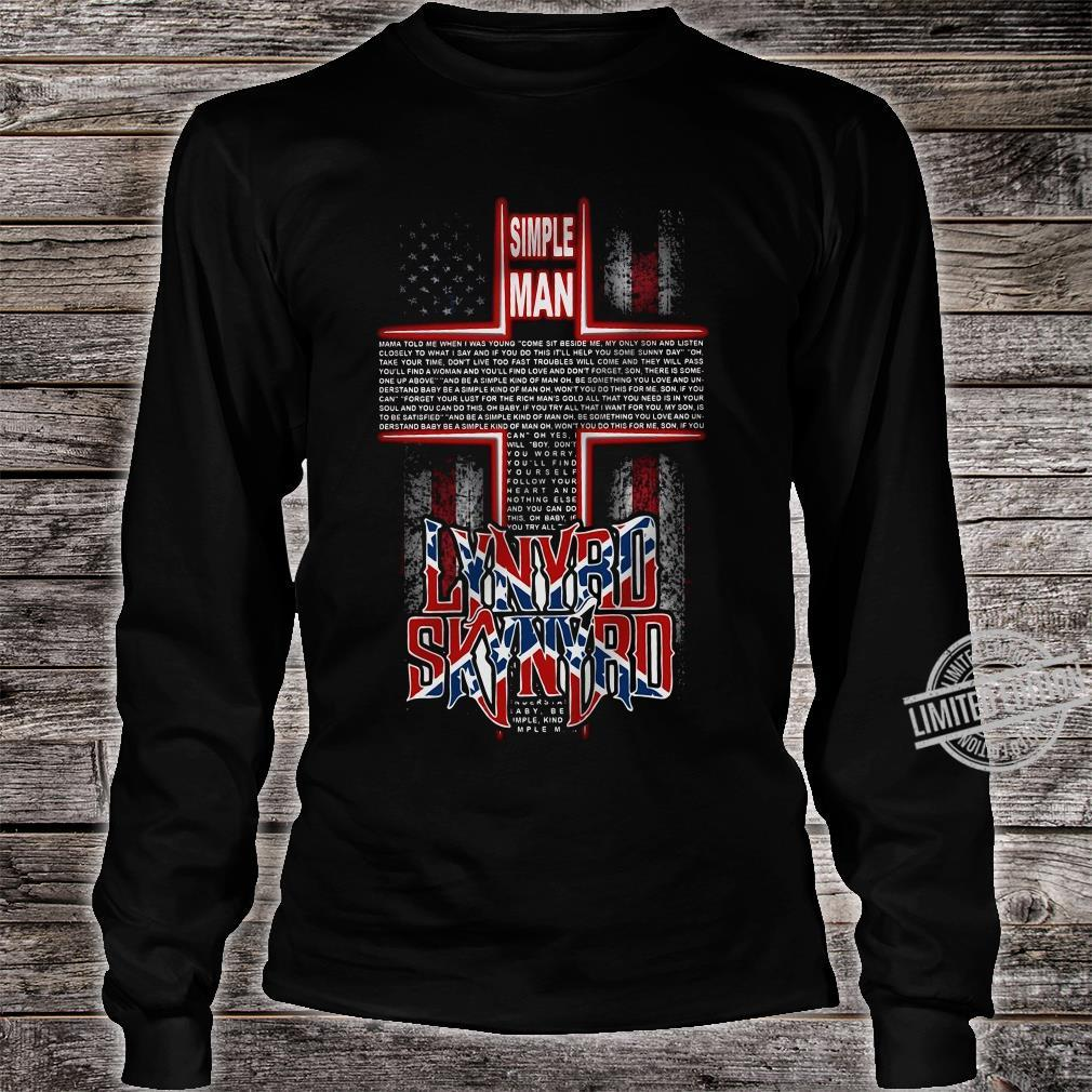 Simple Man Lynyrd Skynyrd Shirt long sleeved