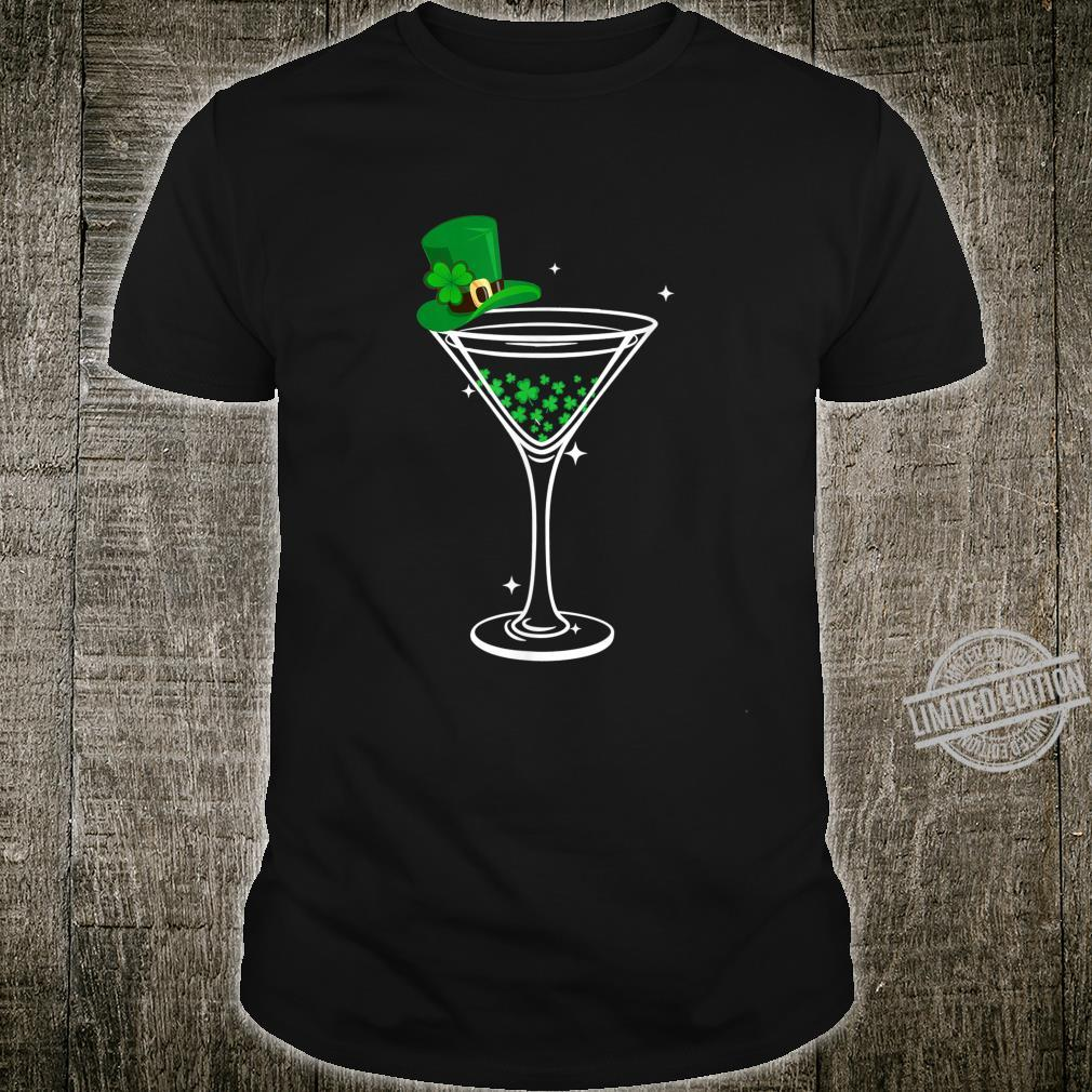 St. Patty's Day Four Leaf Clover Cocktail Shirt