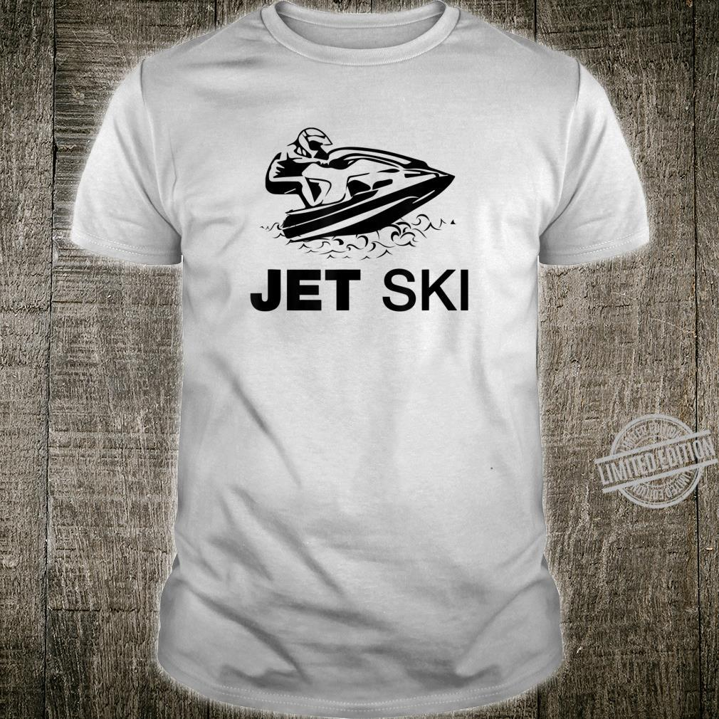 Stand Up Jet Ski Racer 2stroke and Shirt