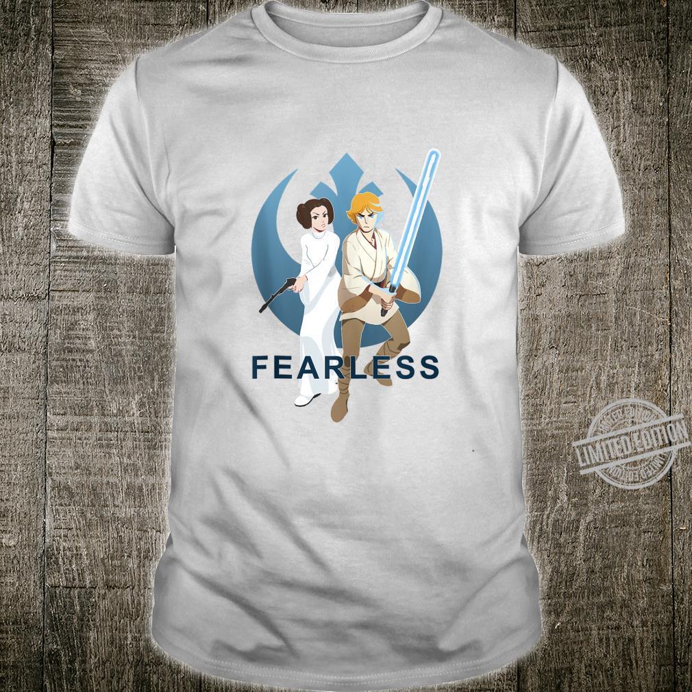 Star Wars Luke And Leia Fearless Rebels Shirt