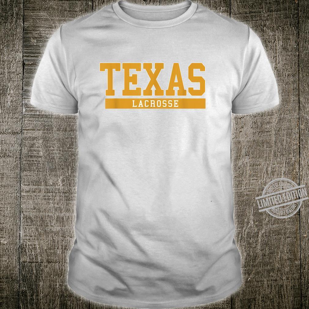 Texas Lacrosse Shirt