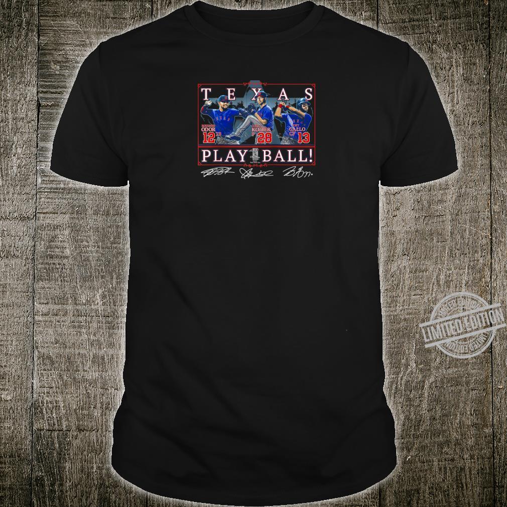 Texas Play Ball Shirt