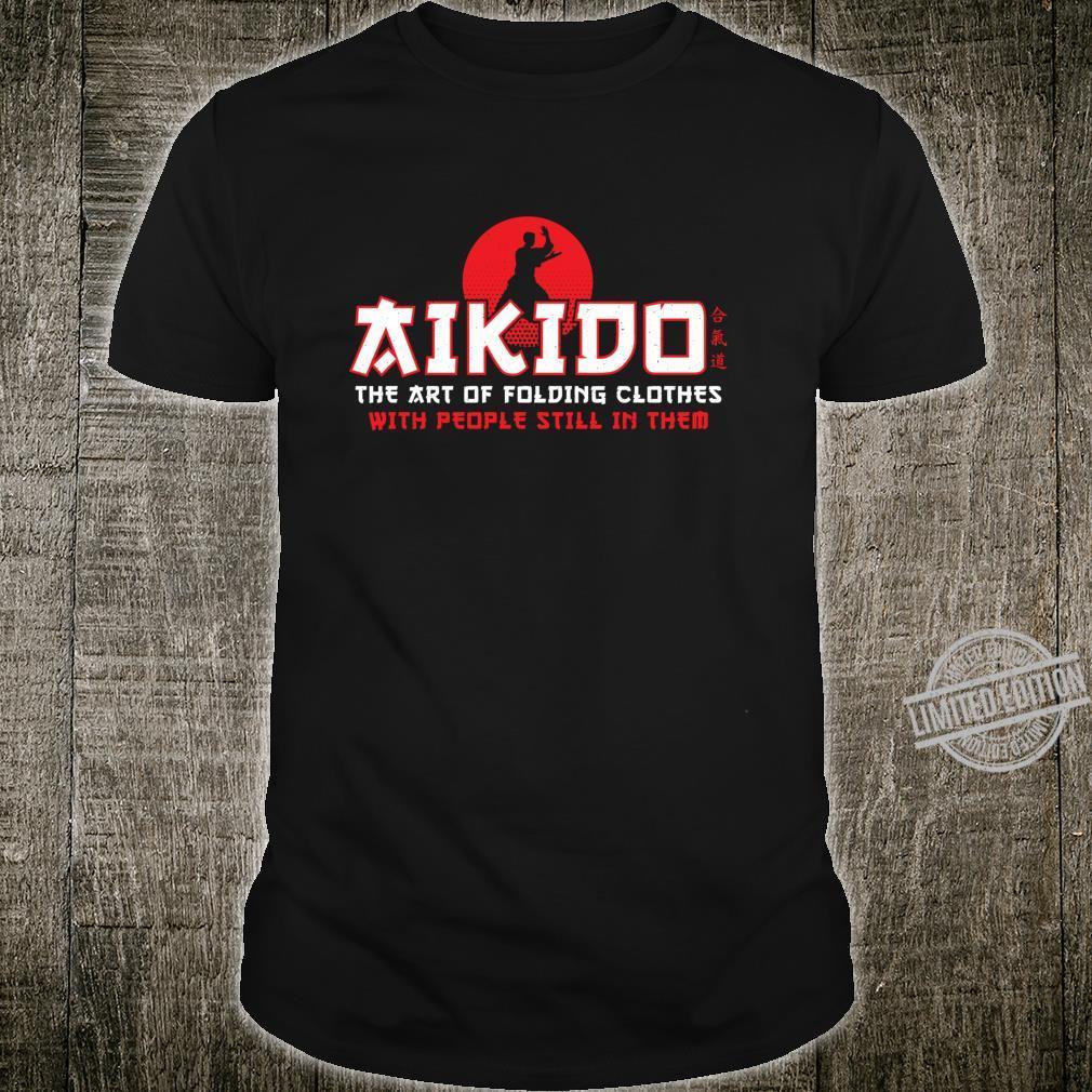 The Art Of Folding Clothes Aikido Martial Arts Shirt