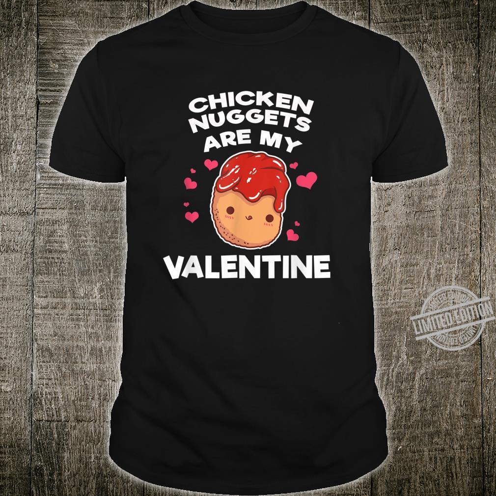 Valentine's Day Chicken Nuggets Nug Food Shirt