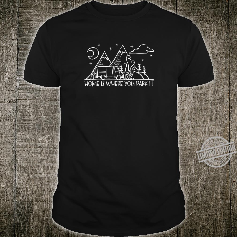 Vanlife Van Life Camping Camper Outdoors Freedom Shirt
